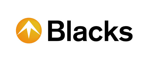 blacks large logo
