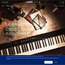 casio.co.uk preview