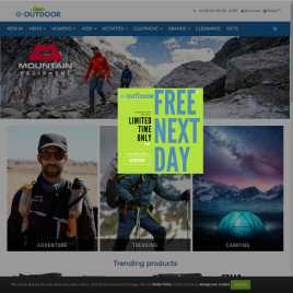 e-outdoor.co.uk preview