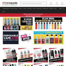 diyeliquids.co.uk preview