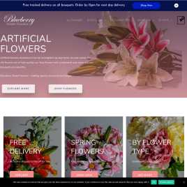 blueberrystreetflowers.co.uk preview