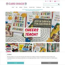 cardshack.co.uk preview