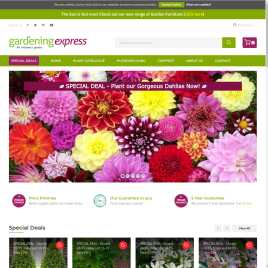 gardeningexpress.co.uk preview