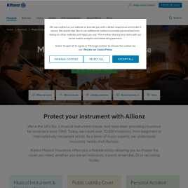 allianzmusicalinsurance.co.uk preview