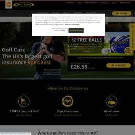 golfcare.co.uk preview