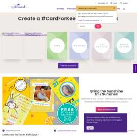 hallmark.co.uk preview