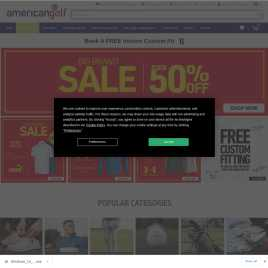 americangolf.co.uk preview