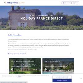 holidayfrancedirect.co.uk preview
