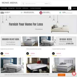homearena.co.uk preview