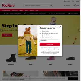 kickers.co.uk preview