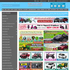 kidselectriccars.co.uk preview