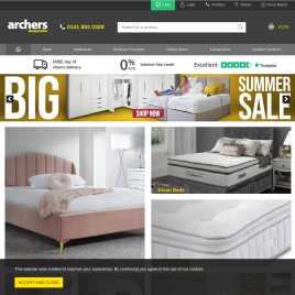 archerssleepcentre.co.uk preview