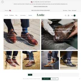 loake.co.uk preview