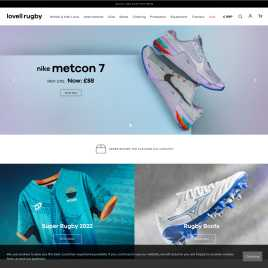 lovell-rugby.co.uk preview