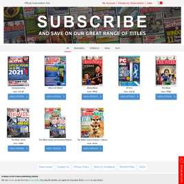 magazinesubscriptions.co.uk preview