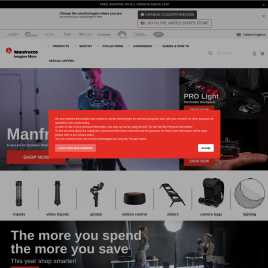 manfrotto.co.uk preview
