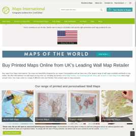 mapsinternational.co.uk preview