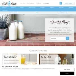milkandmore.co.uk preview