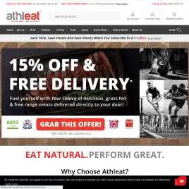 athleat.co.uk preview