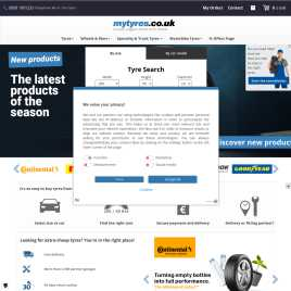 mytyres.co.uk preview