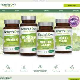 natures-own.co.uk preview
