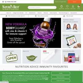 naturesbest.co.uk preview