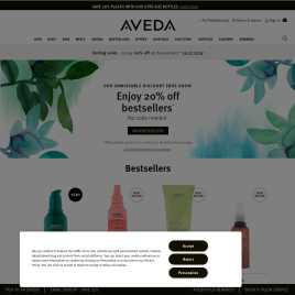 aveda.co.uk preview