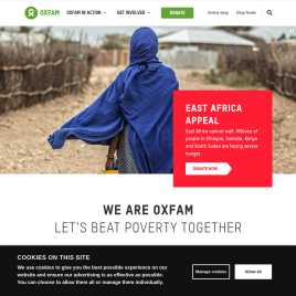 oxfam.org.uk preview