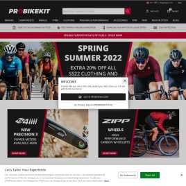 probikekit.co.uk preview