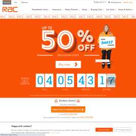 rac.co.uk preview