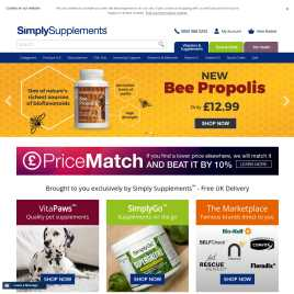 simplysupplements.co.uk preview