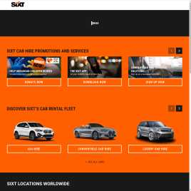 sixt.co.uk preview
