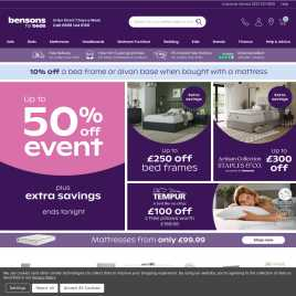 bensonsforbeds.co.uk preview
