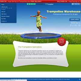 trampoline-warehouse.co.uk preview