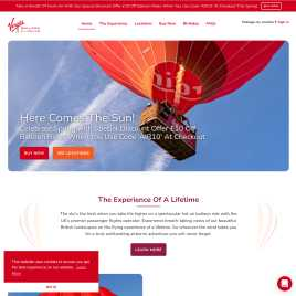 virginballoonflights.co.uk preview