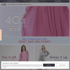 wallis.co.uk preview