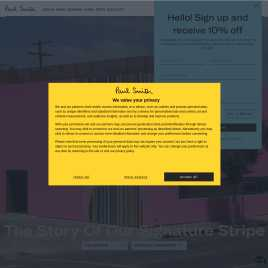 paulsmith.co.uk preview