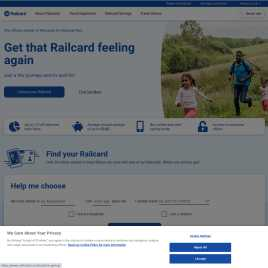 railcard.co.uk preview