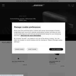 bose.co.uk preview