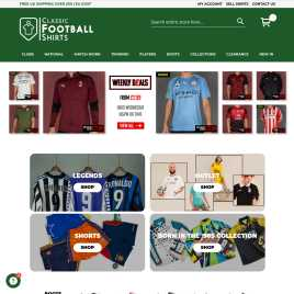 classicfootballshirts.co.uk preview