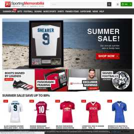 a1sportingmemorabilia.co.uk preview