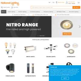 nationallighting.co.uk preview