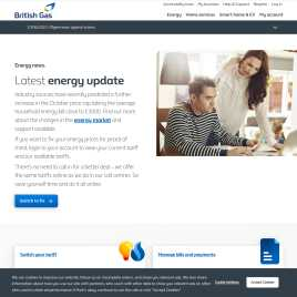 britishgas.co.uk preview