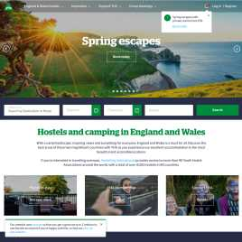 yha.org.uk preview