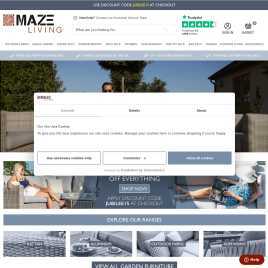 mazeliving.co.uk preview