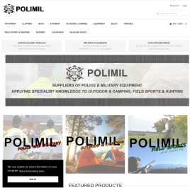 polimil.co.uk preview