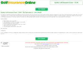 golfinsuranceonline.co.uk preview