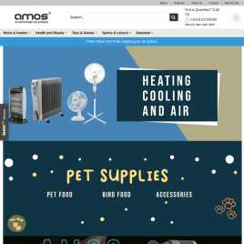 amos.co.uk preview