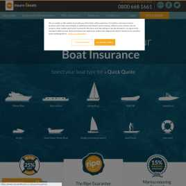 insure4boats.co.uk preview