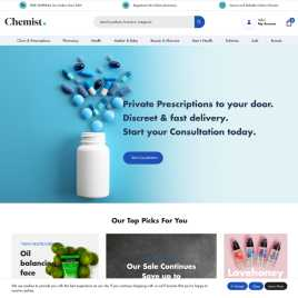 chemist.co.uk preview